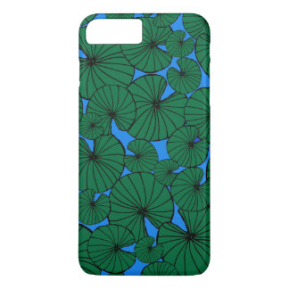 Capa iPhone 8 Plus/7 Plus Caso positivo do iPhone 7 do respingo de Lilypad