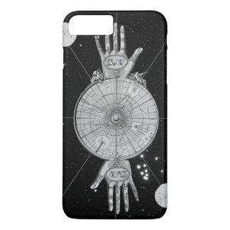 Capa iPhone 8 Plus/7 Plus Caso positivo do iPhone 7 ocultos da astrologia do