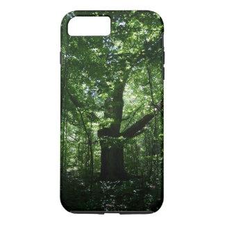 Capa iPhone 8 Plus/7 Plus Caso positivo do iPhone 7 resistentes da árvore
