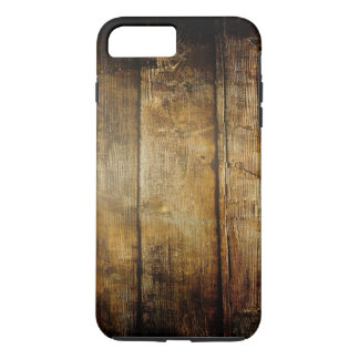 Capa iPhone 8 Plus/7 Plus Caso positivo do iPhone 7 resistentes de madeira