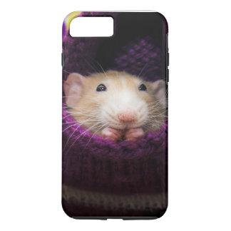Capa iPhone 8 Plus/7 Plus Caso resistente positivo do iPhone 7 do rato de