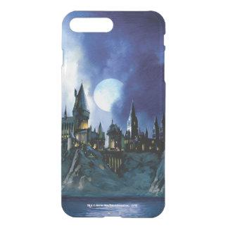 Capa iPhone 8 Plus/7 Plus Castelo   Hogwarts de Harry Potter na noite