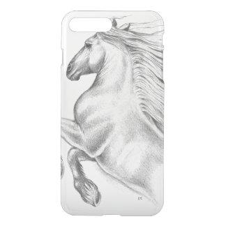 Capa iPhone 8 Plus/7 Plus Cavalo andaluz poderoso