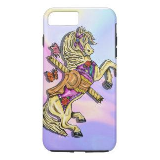 Capa iPhone 8 Plus/7 Plus Cavalo do carrossel