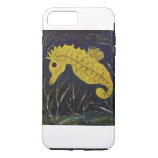 Capa iPhone 8 Plus/7 Plus Cavalo marinho bonito do bebê
