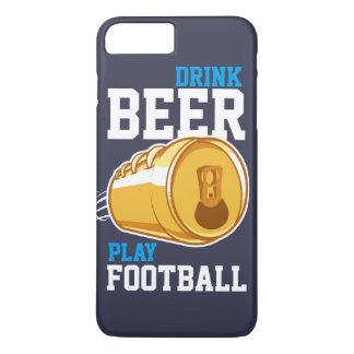 Capa iPhone 8 Plus/7 Plus Cerveja & futebol