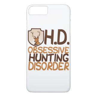 Capa iPhone 8 Plus/7 Plus Cervos obsessivos da desordem da caça