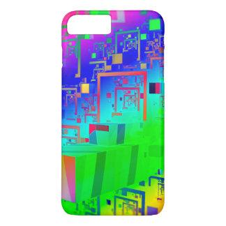 Capa iPhone 8 Plus/7 Plus Cidade do arco-íris