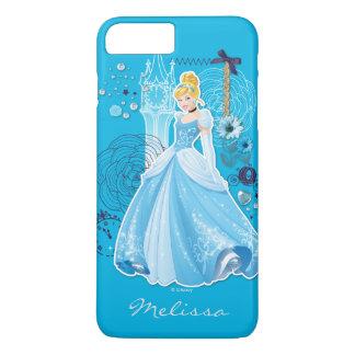 Capa iPhone 8 Plus/7 Plus Cinderella - | gracioso seu nome