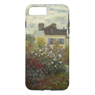 Capa iPhone 8 Plus/7 Plus Claude Monet o vintage floral do jardim do artista