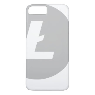 Capa iPhone 8 Plus/7 Plus Cobrir à moda de Litecoin iPhone/iPad/Samsung (-