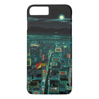 Capa iPhone 8 Plus/7 Plus cobrir do iphone da cidade do brilho