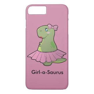 Capa iPhone 8 Plus/7 Plus Cobrir do telefone de T-Rex do dinossauro da