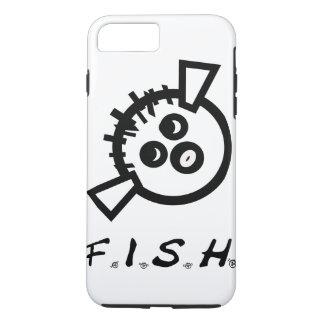 Capa iPhone 8 Plus/7 Plus Cobrir do telefone móvel dos PEIXES