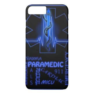 Capa iPhone 8 Plus/7 Plus cobrir positivo do telemóvel do paramédico do