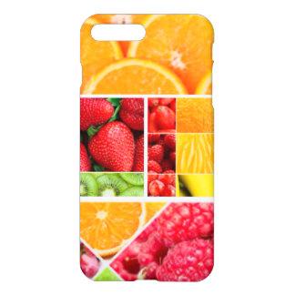 Capa iPhone 8 Plus/7 Plus Colagem da fruta da mistura