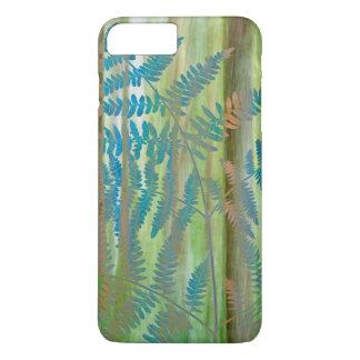 Capa iPhone 8 Plus/7 Plus Colagem das samambaias da samambaia e da floresta