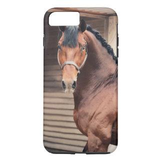 Capa iPhone 8 Plus/7 Plus coleção do cavalo. desportivo