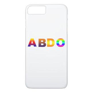 Capa iPhone 8 Plus/7 Plus coloriu a edição limitada positiva do iphone 7 de