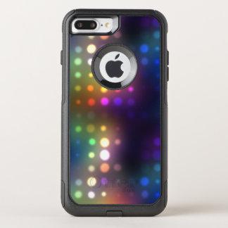 Capa iPhone 8 Plus/7 Plus Commuter OtterBox Abstrato das luzes de néon