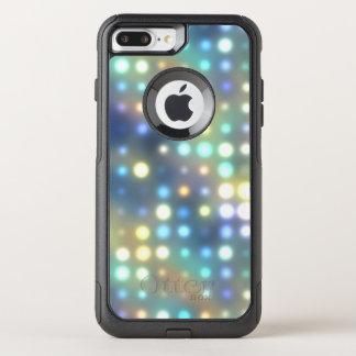 Capa iPhone 8 Plus/7 Plus Commuter OtterBox Abstrato das luzes de néon de Patel