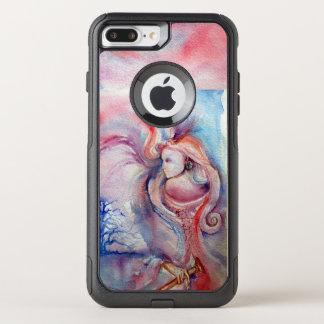 Capa iPhone 8 Plus/7 Plus Commuter OtterBox AVALON/fantasia azul cor-de-rosa da mágica e do
