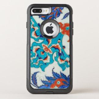Capa iPhone 8 Plus/7 Plus Commuter OtterBox azulejo do iznik