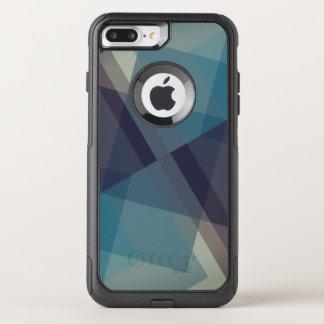 Capa iPhone 8 Plus/7 Plus Commuter OtterBox Blocos geométricos, caso moderno do iPhone 7 do