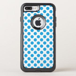 Capa iPhone 8 Plus/7 Plus Commuter OtterBox Bolinhas azuis