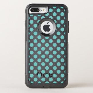 Capa iPhone 8 Plus/7 Plus Commuter OtterBox Bolinhas do Aqua