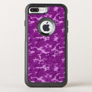 Capa iPhone 8 Plus/7 Plus Commuter OtterBox Camuflagem roxa