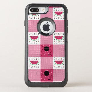 Capa iPhone 8 Plus/7 Plus Commuter OtterBox Capa de telefone de Otterbox do piquenique do