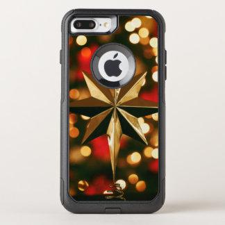 Capa iPhone 8 Plus/7 Plus Commuter OtterBox Capa de telefone dos enfeites de natal