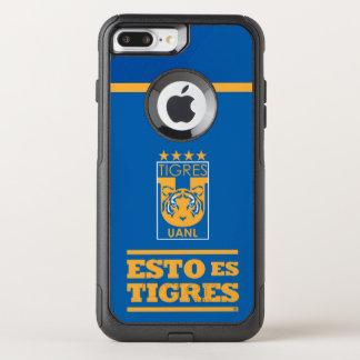 Capa iPhone 8 Plus/7 Plus Commuter OtterBox Capas de iphone da equipe de Tigres UANL
