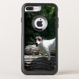 Capa iPhone 8 Plus/7 Plus Commuter OtterBox Capo von Oppenheim Jack Russell Terrier, cão