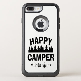 Capa iPhone 8 Plus/7 Plus Commuter OtterBox Citações de acampamento do divertimento do