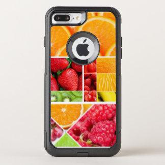 Capa iPhone 8 Plus/7 Plus Commuter OtterBox Colagem da fruta da mistura