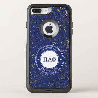 Capa iPhone 8 Plus/7 Plus Commuter OtterBox Crachá alfa da phi | do Pi