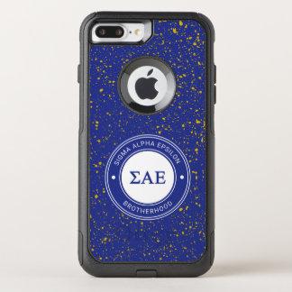 Capa iPhone 8 Plus/7 Plus Commuter OtterBox Crachá alfa do épsilon | do Sigma