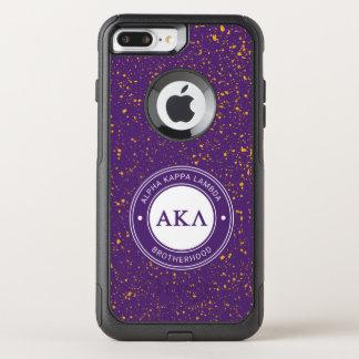 Capa iPhone 8 Plus/7 Plus Commuter OtterBox Crachá alfa do Lambda | do Kappa
