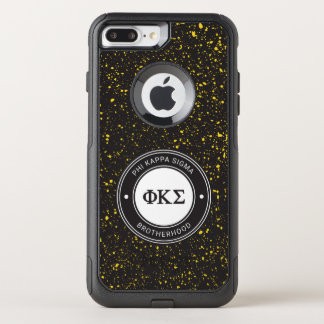 Capa iPhone 8 Plus/7 Plus Commuter OtterBox Crachá do Sigma | do Kappa da phi