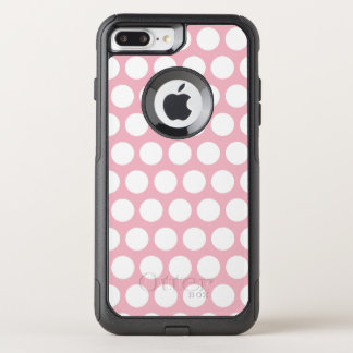Capa iPhone 8 Plus/7 Plus Commuter OtterBox Criar suas próprias bolinhas brancas