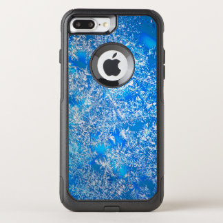 Capa iPhone 8 Plus/7 Plus Commuter OtterBox Cristais de gelo em uma noite nevado