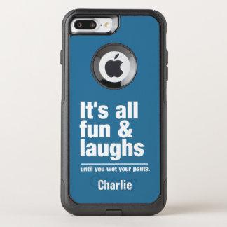 Capa iPhone 8 Plus/7 Plus Commuter OtterBox DIVERTIMENTO & de nome & de cor dos RISOS capas de