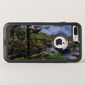 Capa iPhone 8 Plus/7 Plus Commuter OtterBox elogio olímpico do cabo da península do nascer do