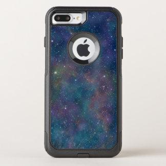 Capa iPhone 8 Plus/7 Plus Commuter OtterBox Estrelas do céu nocturno do teste padrão do espaço