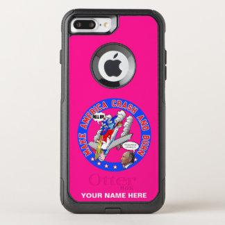 Capa iPhone 8 Plus/7 Plus Commuter OtterBox Faça América deixar de funcionar & queimar-se