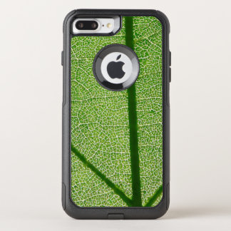 Capa iPhone 8 Plus/7 Plus Commuter OtterBox Fim verde da folha acima