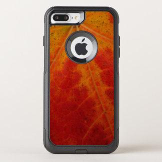 Capa iPhone 8 Plus/7 Plus Commuter OtterBox Fotografia vermelha da natureza do outono do