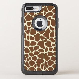 Capa iPhone 8 Plus/7 Plus Commuter OtterBox Impressão do girafa